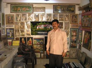 The artist : Kanu Swami