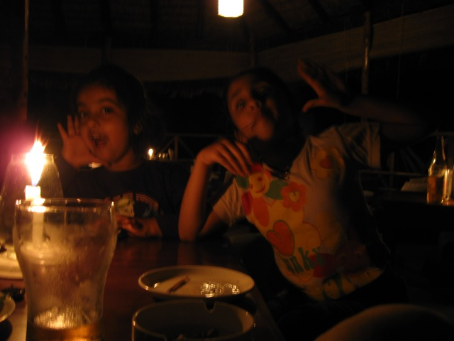 Candle light Dinner at Havelock Island, Andamans