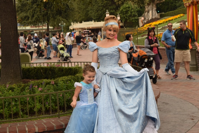 Disney Princess with a kid