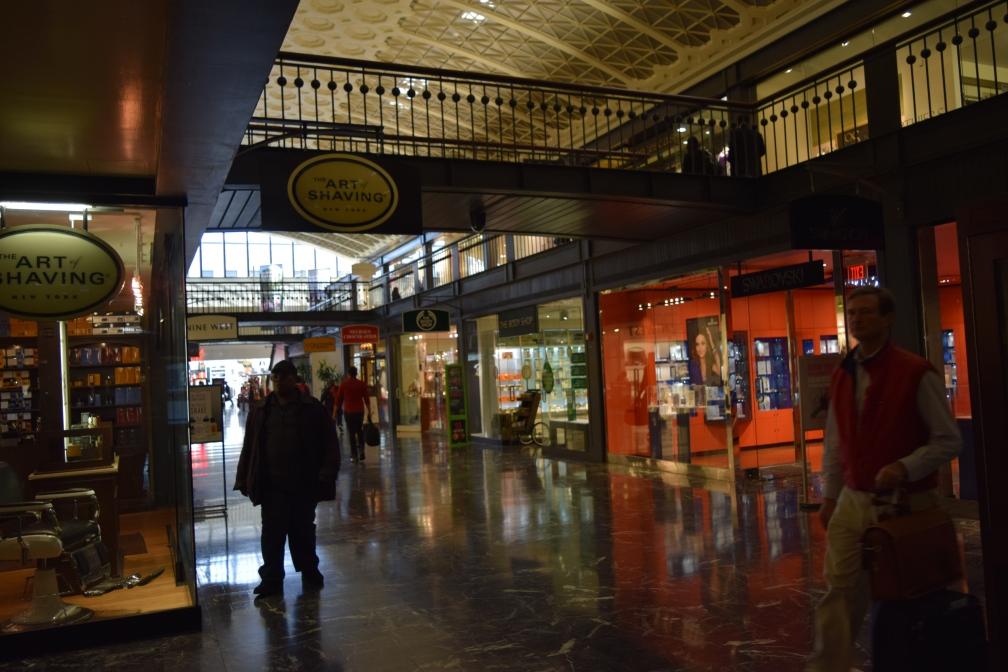 inside the union station