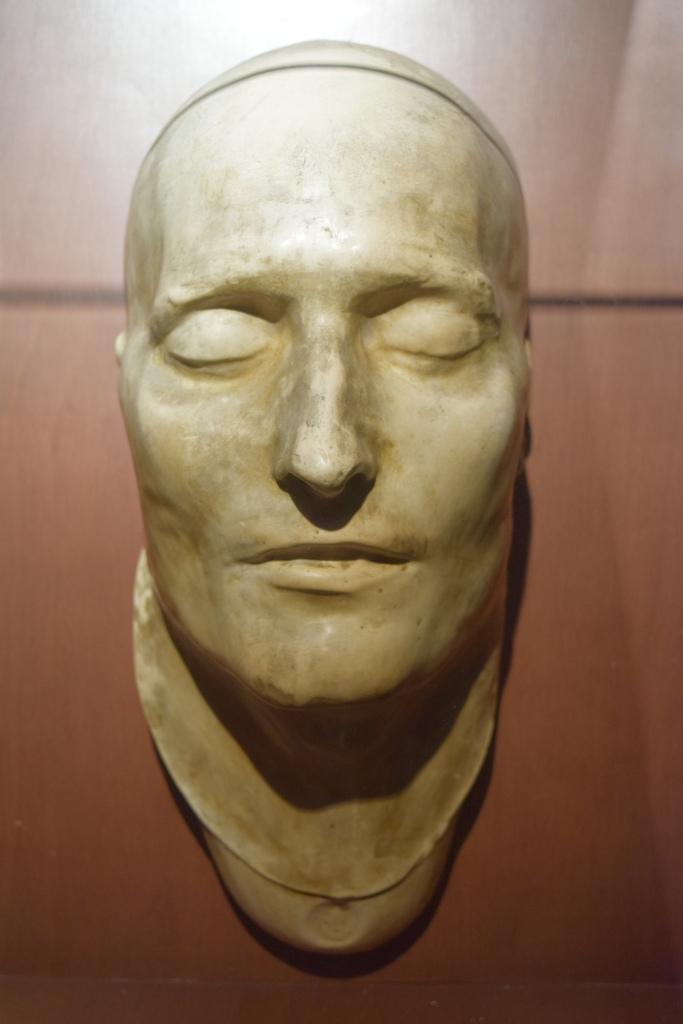Death mask of Napolean