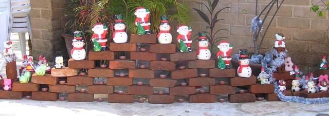 Christmas decoration at Aurobindo Ashram