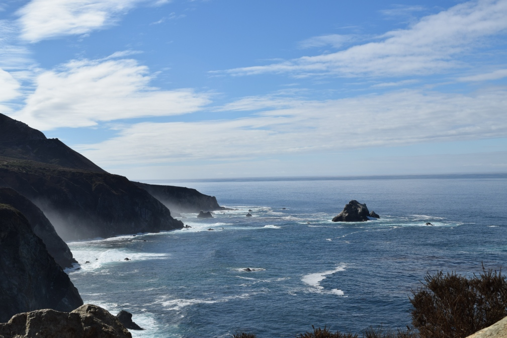 Eye-catching sight all along the Pacific Coastal Highway