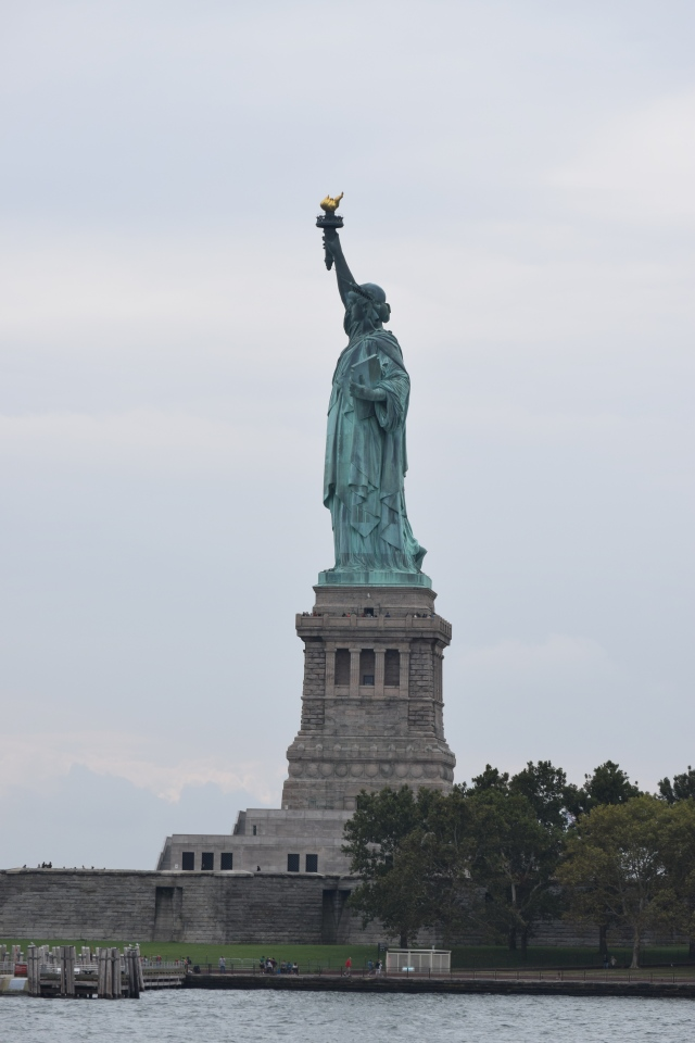 And of course the lady... Liberty