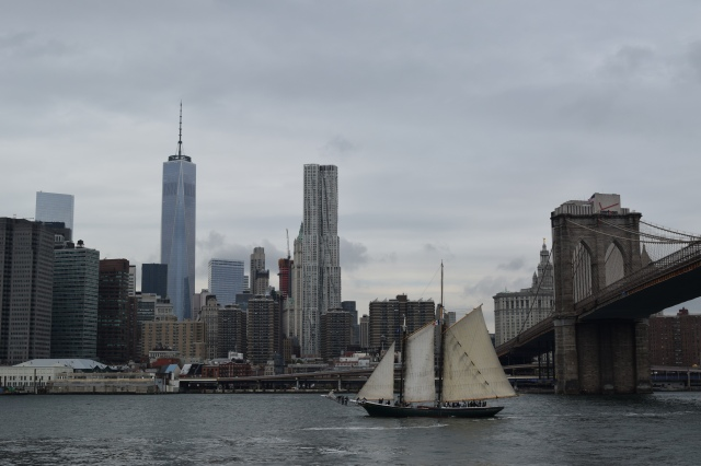 Pirate Ship? In middle of New York?