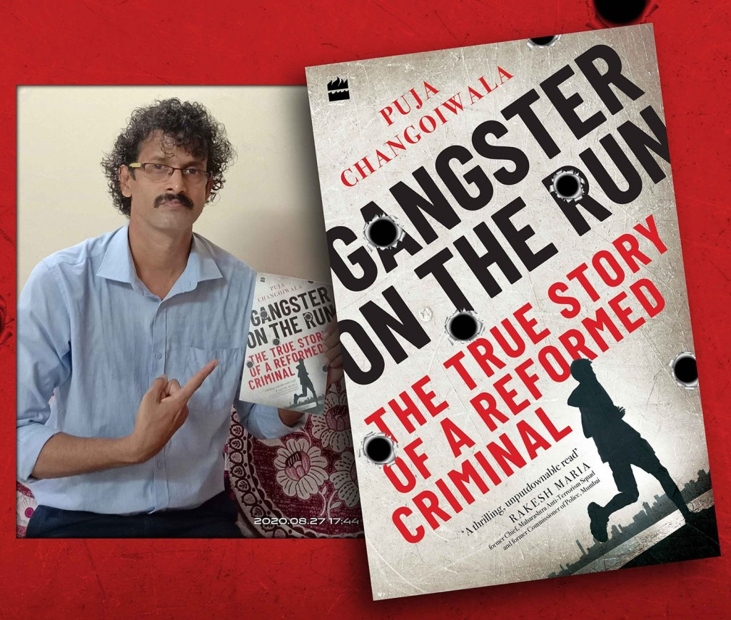 Book cover Gangster On The Run